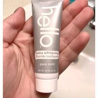 Hello Extra Whitening Fluoride Toothpaste Pure Mint uploaded by Kaila D.