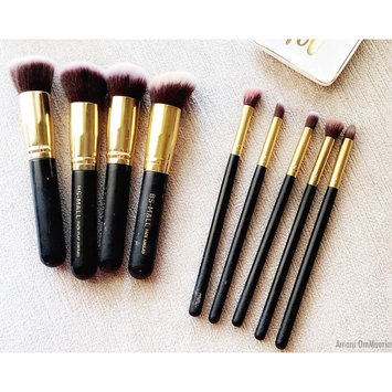 Photo of BS-MALL(TM) Premium Synthetic Kabuki Makeup Brush Set Cosmetics Foundation Blending Blush Eyeliner Face Powder Brush Makeup Brush Kit uploaded by Amani O.