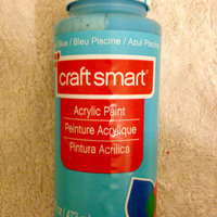 Acrylic Paint, 16 oz in Pool Blue by Craft Smart uploaded by Nka k.