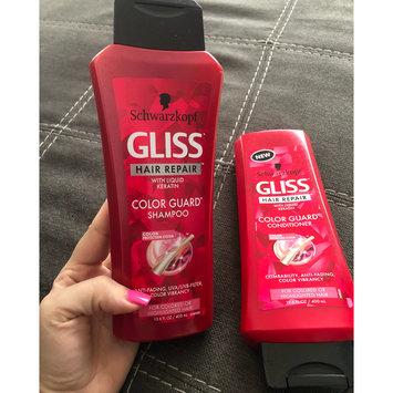 Photo of Schwarzkopf Gliss Colour Protect Shampoo With Liquid Keratin - 250ml uploaded by Donnamarie L.