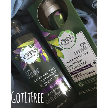 Photo of Herbal Essences Cucumber & Green Tea Foam Conditioner uploaded by Chelsea T.