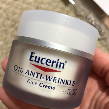 Photo of Eucerin Q10 Anti-Wrinkle Sensitive Skin Crème - 1.7 oz uploaded by Hillary C.