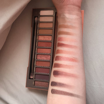 Photo of Urban Decay Naked Heat Eyeshadow Palette uploaded by Chelsea L.