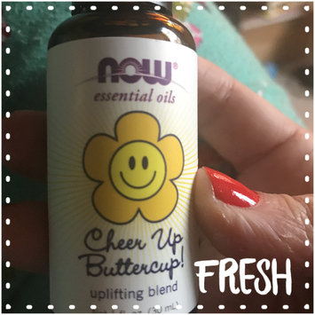 Photo of NOW Essential Oils Cheer Up ButterCup Uplifting Blend, 1 fl oz uploaded by Mechel P.
