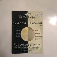 the CRÈME shop Charcoal & Lemon Fusion Sheet Mask uploaded by Sarah S.