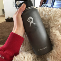 Hydro Flask 32oz Wide Mouth with Flex Cap: Hydro Flask Hydration Belts & Water Bottles uploaded by McKenzie N.