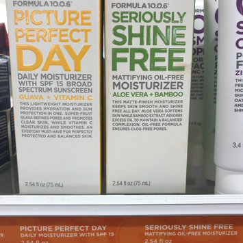 Photo uploaded to Formula 10.0.6 Seriously Shine Free Mattifying Oil-Free Moisturizer with Aloe Vera & Bamboo by Michelle V.