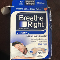 Breathe Right Drug Free Clear Sm/Med Nasal Strips - 30 CT uploaded by Stephanie B.