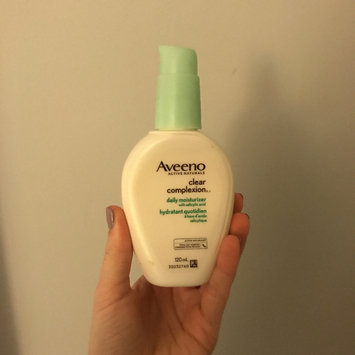 Photo of Aveeno® Clear Complexion Daily Moisturizer uploaded by Madi L.