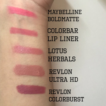 Photo of Lotus pure organics. Natural Lipstick - Rosebud, Fashionable Colors, Long lasting, Gluten Free, Cruelty Free, Lead Free, Non-Toxic Chemicals, Enriched with Vitamin E, Smooth and moisturized. (Rosebud) uploaded by InquisitiveSylph B.