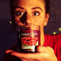 Yankee Candle Medium black cherry housewarmer candle uploaded by Daisy F.