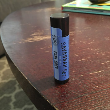 Photo of Savannah Bee Company Certified Organic Earl Grey Beeswax Lip Balm, 0.15-Ounce uploaded by Kayla E.