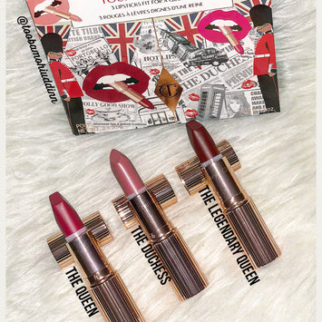 Photo of Charlotte Tilbury Your Lip Service Royal Lipstick Trio uploaded by Tooba M.