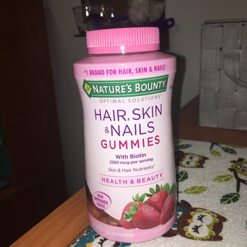 Photo of Nature's Bounty Hair, Skin & Nails Gummies uploaded by Jocelynne A.