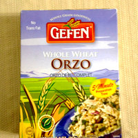 Gefen Rice, Orzo, Whole Wheat, 8.8-Ounce (Pack of 12) uploaded by Nka k.