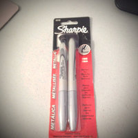 Sharpie® Silver Permanent Metallic Sharpie with Fine Point uploaded by Nka k.