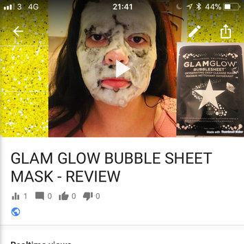 Photo of GLAMGLOW BUBBLESHEET Oxygenating Deep Cleanse Mask uploaded by Emma F.