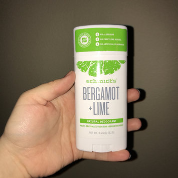 Photo of Schmidt's Bergamot + Lime Natural Deodorant uploaded by Cassy G.