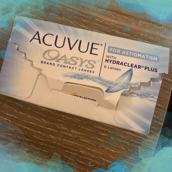 Photo of Acuvue Oasys For Astigmatism Contact Lenses uploaded by Kaylee M.