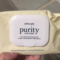 Philosophy Purity Made Simple One-Step Facial Cleansing Cloths uploaded by Caren F.
