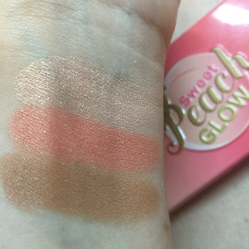 Photo of Too Faced Sweet Peach Glow Infused Highlighting Palette uploaded by Melissa D.