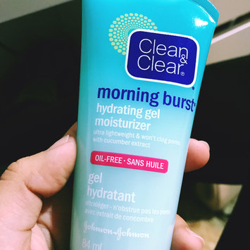 Photo of Clean & Clear® Morning Burst® Hydrating Gel Moisturizer uploaded by Nathalia M.
