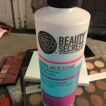 Photo of Beauty Secrets Non-Acetone Nail Polish Remover uploaded by Lisa C.