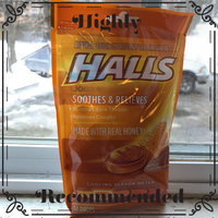 HALLS Honey Cough Suppressant/Oral Anesthetic Menthol Drops uploaded by Raven A.