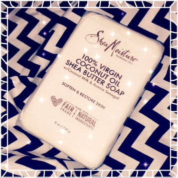 Photo of SheaMoisture 100% Virgin Coconut  Oil Shea Butter Soap uploaded by Slayahontas S.