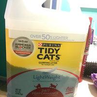 Purina Tidy Cats Tidy Cats LightWeight 24/7 Performance Scoop Litter Jug - 8.5lb uploaded by Lottie C.