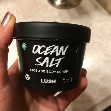 Photo of LUSH Ocean Salt Face and Body Scrub uploaded by Laurie H.