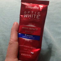 Colgate Optic White Platinum High Impact Toothpaste uploaded by Brandy R.