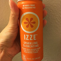 Izze Fortified Juice Sparkling Clementine uploaded by Alexis B.