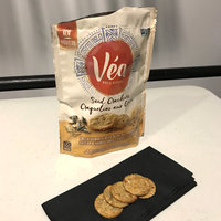 Véa Snacks Greek Hummus & Olive Oil Seed Crackers uploaded by Katelyn F.