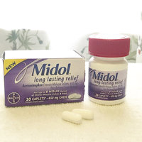 Midol Long Lasting Relief 20 Count uploaded by Ashley H.