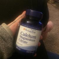 Puritan's Pride Calcium Magnesium Citrate-100 Caplets uploaded by Ella P.