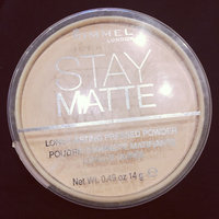 Rimmel London Stay Matte Pressed Powder uploaded by Iqra A.