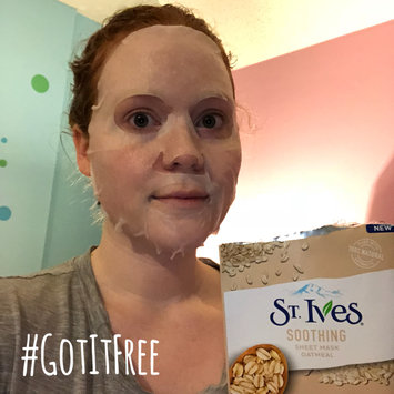 Photo of St. Ives Soothing Oatmeal Sheet Mask uploaded by Alison W.