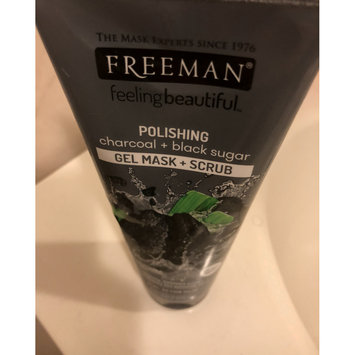 Photo of Freeman Feeling Beautiful™ Polishing Charcoal & Black Sugar Gel Mask + Scrub uploaded by Teodora D.