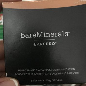 Photo of bareMinerals barePRO® Performance Wear Pressed Powder Foundation uploaded by Becca C.