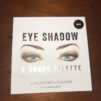 Photo of Academy of Colour 9 Shade Eyeshadow Palette, Multicolor uploaded by brooklynn b.