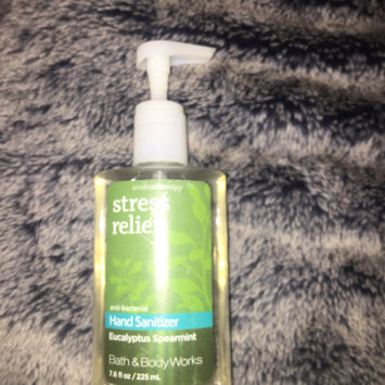 Photo of Bath & Body Works PocketBac Stress Relief Eucalyptus Spearmint Anti-Bacterial Hand Gel uploaded by iliana I.