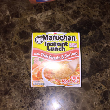 Photo of Maruchan® Instant Lunch™ with Chili Piquin & Shrimp Ramen Noodles 2.25 oz. Cup uploaded by Yaritza V.