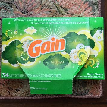 Photo of Gain® Original Fabric Softener Sheets 34 ct Box uploaded by Jill R.