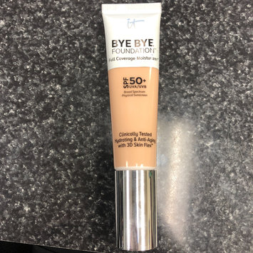 Photo of IT Cosmetics® Bye Bye Foundation Full Coverage Moisturizer™ with SPF 50+ uploaded by Florence E.