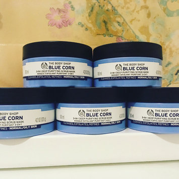 Photo of The Body Shop Blue Corn 3 in 1 Deep Cleansing Scrub Mask uploaded by Charlie D.