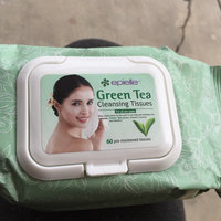 Epielle 30 pre-moistened Green Tea Cleansing Tissues uploaded by Aubrey C.