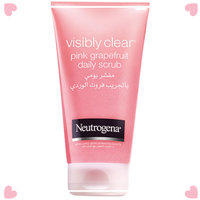 Neutrogena® Oil-Free Acne Wash Pink Grapefruit Foaming Scrub uploaded by #البشرة_الدهنيه b.