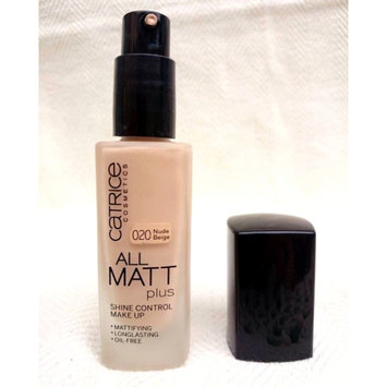 Photo of Catrice All Matt Plus Shine Control Makeup uploaded by Anca G.