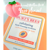 Burt's Bees Facial Cleansing Towelettes Peach & Willowbark Exfoliating uploaded by Ashley A.